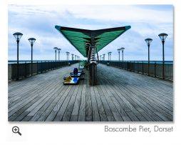 Boscombe Pier, Hampshire Landscape Photograph