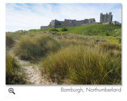 Bamburgh, Northumberland Landscape Photograph.