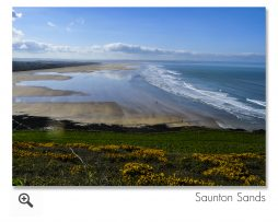 Saunton Sands, Devon.