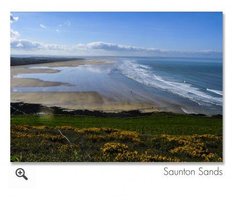 Saunton Sands, Devon.